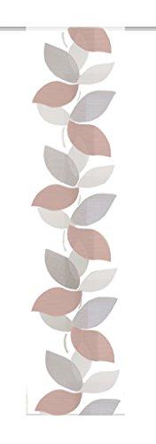 Home Fashion 86946–720Cobre H: 245x B: 60cm Scherli–Panel japonés Voile