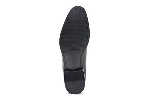 Red Tape , Chaussures de ville à lacets pour homme Noir