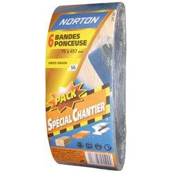 norton-lot-de-6-bandes-75-x-457-mm-grain-80