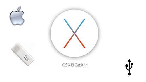 Price comparison product image  Mac OS X 10.11 El Capitan Bootable USB INSTALL, UPGRADE OR FACTORY RESET