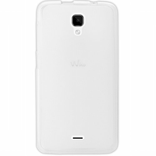 Mocca Design Coque Wiko Bloom Blanc transparent
