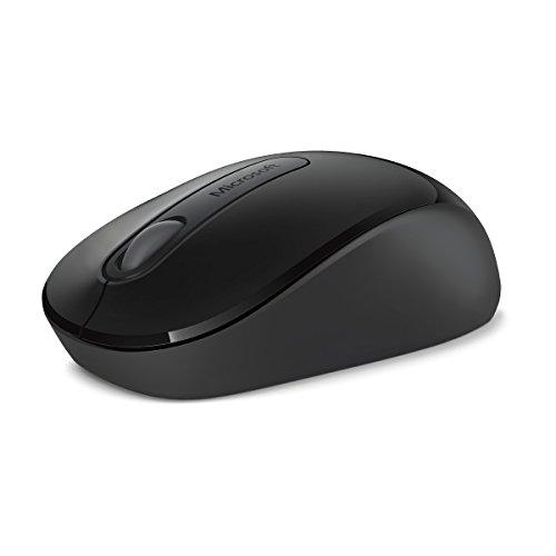 Microsoft PW4-00004 Wireless Mouse 900  Maus Bluetooth schwarz - Microsoft Wireless Mouse Schwarz