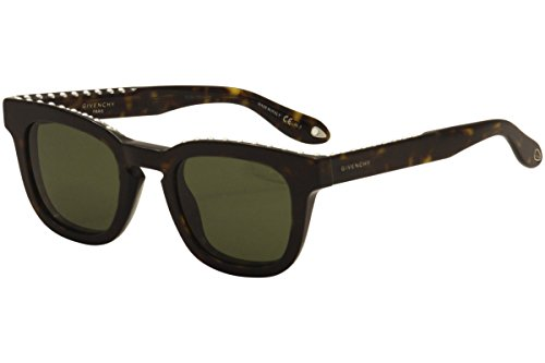Givenchy gv 7006/s 1e 086, occhiali da sole unisex-adulto, marrone (dark havana/green), 48