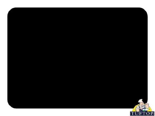 Tuftop Glasschneidebrett, sehr hochwertig, Gr. M, Schwarz