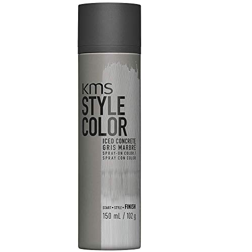 KMS California Style Color Iced Concrete temporäres Farbspray - Haarfarbe ohne sich festzulegen, 150 ml