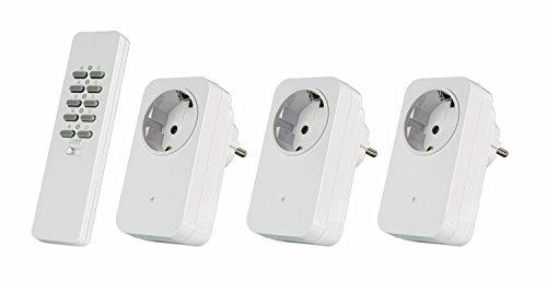 Trust Smart Home AC3-1000R Set di Commutazione Wireless, Bianco