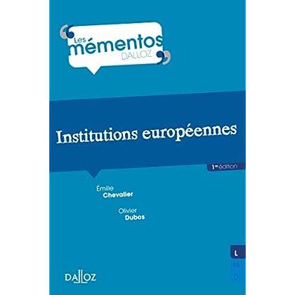 Institutions européennes - Nouveauté