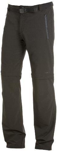 Cmp  - pantaloni elastici da uomo convertibili con cerniera, grigio (antracite), 48