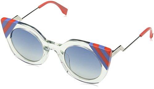 Fendi Damen Sonnenbrille Ff 0240/S Uy, Schwarz (Na), 47
