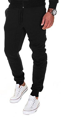 b08eb7038f MERISH Pantalones Jogger Hombre Deportivos Joggers Modell 211 Negro M