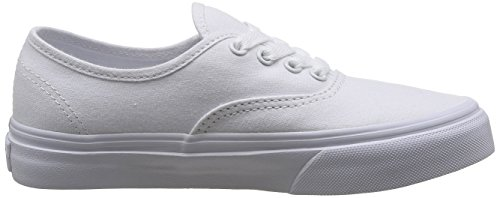 Vans K Authentic, Baskets mode mixte enfant Blanc (True Wht)