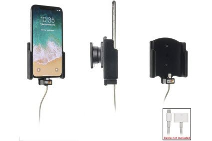 Brodit iPhone X Halter für Kabel-Befestigung 515997