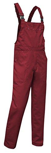 Preisvergleich Produktbild KERMEN - Arbeits-Latzhose Hamburg Kombi-hose Berufskleidung - mehrere Farben - made in EU, Bordo, 50