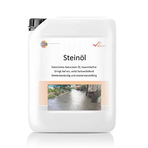 1L Naturstein Öl Pflegeöl für Schiefer Granit Schieferöl Steinöl Schiefer Öl Pflege Imprägnierung Versiegelung
