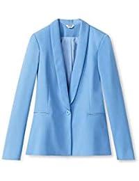 Donna Abbigliamento Celeste E Amazon Giacche it Cappotti wYAqwXFP