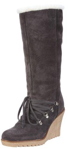 ESPRIT Kiwi Lu Boot X10430, Damen Stiefel, Grau (dark grey 073), EU 40