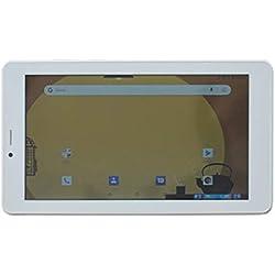 ibowin® 7 Pulgadas Android Oreo 8.1OS 1G RAM 16G ROM 3G Movil Tablet PC 1024x600 IPS Resolución gsm Certificated 3G WCDMA y 2G gsm WiFi + Cellular + AGPS Dual SIM Tarjeta - Blanco