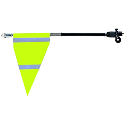 M-Wave LED Sicherheit Flagge (Neon Gelb)