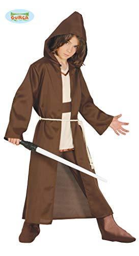 Guirca- costume maestro spirituale, colore marrone, 10/12 anni (140/152), fg85887