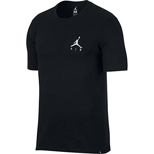 Nike Herren M JSW Tee JMPMN AIR EMBRD T-Shirt, schwarz, S - Jordan T-shirt