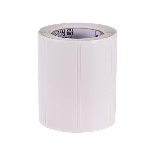 Festnight 57 * 20 mm 1 rollo papel térmico autoadhesivo
