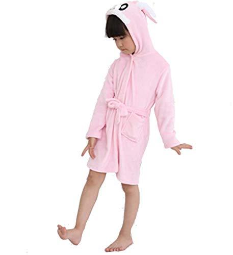 Tooplab CityComfort Peignoir pour Enfants Little Boy Girl avec Dressing à Capuche Serviette Serviette Soft Cotton Sponge 7-13 Ans