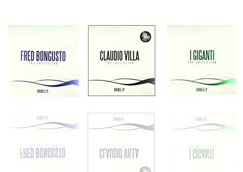 Special Offer 3 Double Vinyl 180 gr, Claudio Villa, Fred Bongusto, I Giganti Musica Italiana Anni 60/70