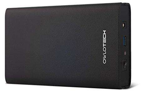 """Owlotech OW1089 - Caja Externa USB 3.0 para Discos Duros SATA DE 3.5"""", Color Negro"""