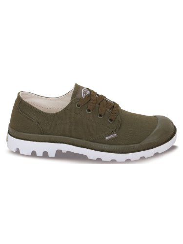 Palladium Blanc Ox, Chaussons Sneaker Adulte Mixte green