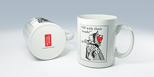 Cannon Collectables British Library Alice im Wunderland Tasse aus Keramik mit Königin der Herzen (Königin Der Herzen Alice)