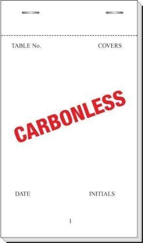 NCR Duplicare Cameriere imbottiture Numerato N Carbonio 140mm Strappare Confezione da 20 (Numerato Parte)