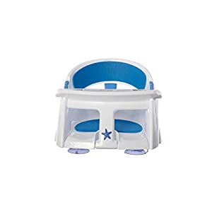 Dreambaby Super Comfy Bath Seat With Heat Sensing Indicator (approximately 5 months of age - White)