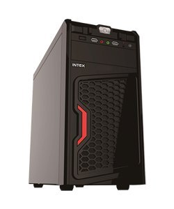 INTEX IT-414 USB CABINET WITH SMPS ( BLACK )
