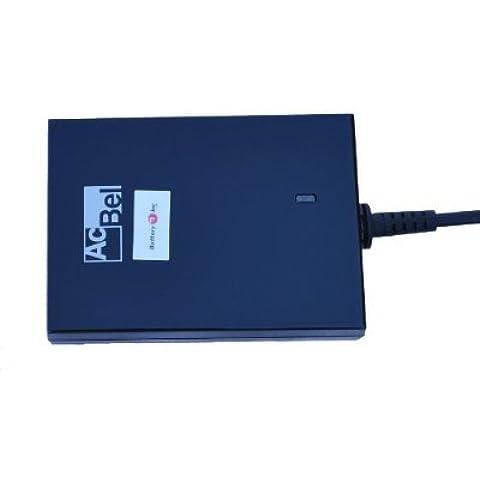 Battery1inc próxima generación más pequeño del mundo y más delgado portátil adaptador de CA para HP Compaq Business Notebook 6720s Notebook PC con libre universal Real 9consejos juego (Worldwide Certificado de seguridad con 3años de garantía) + libre todo en uno universal adaptador de enchufe