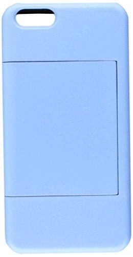 DreamWireless Apple iPhone 6Plus Gummi aufgestellt Card Case-Tragetasche-Retail Verpackung-Schwarz Haut//Marineblau