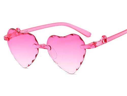 Daesar Gefälle Rosa Motorrad Sonnenbrille Kinder Sonnenbrille UV 400 mit Harz Linse