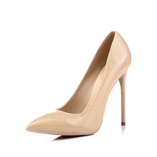 Chaussures à talons hauts avec pointes fines 10 cm