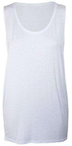 Janisramone Damen Top * Einheitsgröße Weiß