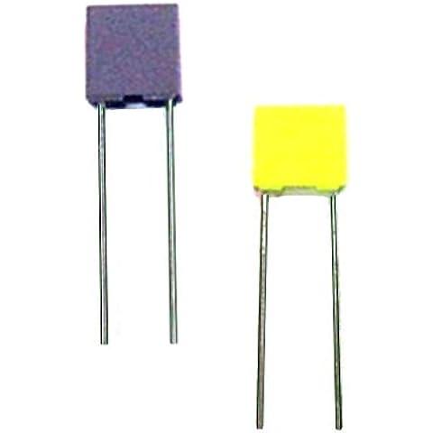 140x Kit del Condensador Miniatura Poliéster 100V 102PF a 474NF 14 Valor