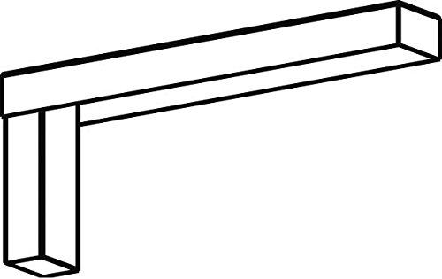 RZB ZIMMERMANN - SOPORTE DE MONTAJE EN PARED PARA 981581 004 STIRNS  MONTAJE DE ACCESORIOS MECANICOS LED PARA LUMINARIAS HALYXX