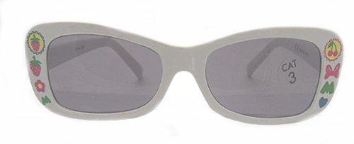 Disney minnie occhiali da sole in plastica di mouse white & case