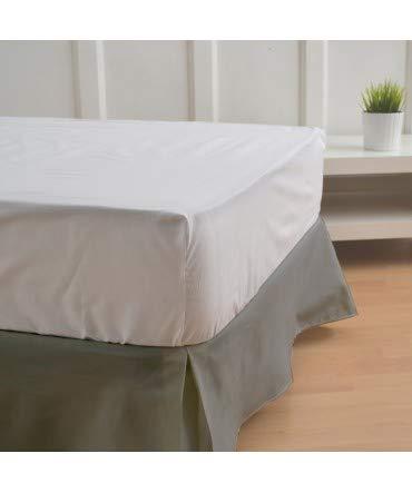 10XDIEZ Cubre canapés 135 Ceniza - Medidas canapé 135cm - Elegante y Sencillo de Lavar y Colocar - Tejido Fuerte, Suave y Duradero