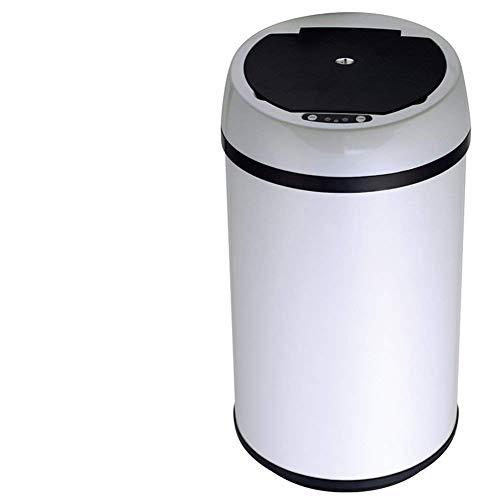 X&MX Papelera con Tapa, Lntelligent Sensor De Basura Puede Dormitorios Basura Sala...