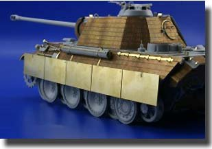 Eduard Accessories 35927 - Schürzen Panther Ausf.G late Für Dragon Bausatz 1:35