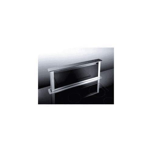 Broan HPT 900 VI Dunstabzugshaube, Umluftbetrieb 60/90 cm, mit Kohlefilter, Recyclingfunktion, Edelstahl