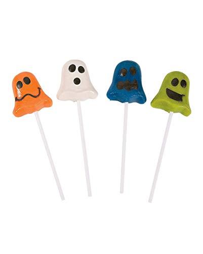 Geister Lutscher als Halloween Süßigkeit ()