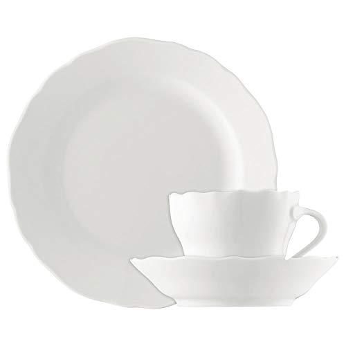 Hutschenreuther 02013-800001-18735 Maria Theresia Kaffee-Set 18-teilig, weiß Hutschenreuther Set