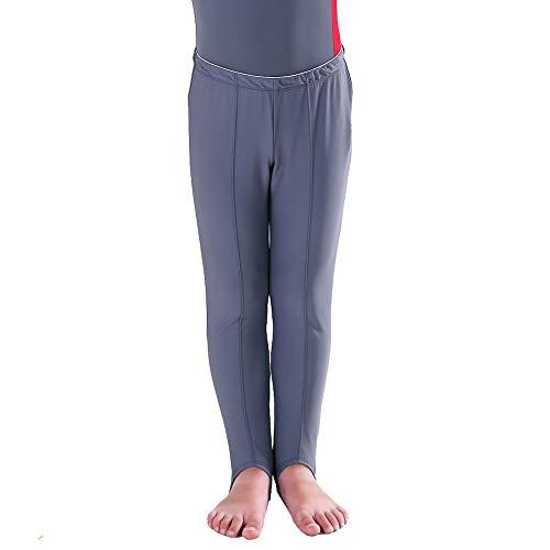 NewDance Steghose für Jungen und Herren, Ballett, gibt Halt, volle Länge, dehnbar, Gymnastikhose, Leggings M ()