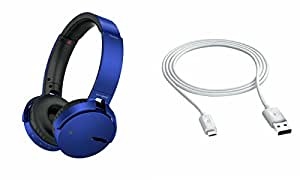 Extra Bass XB650 Headphones & Data Cable for MICROMAX CANVAS 6 PRO(XB 650 Headphones,With MIC,Extra Bass,Headset,Sports Headset,Wired Headset & Data Cable,Mobile Connecting Cable,Data Transfer Cable)