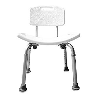 shower chair-Silla Ducha Aluminio Ayuda Baño Taburete Banqueta Regulable Ajustable WC Asiento